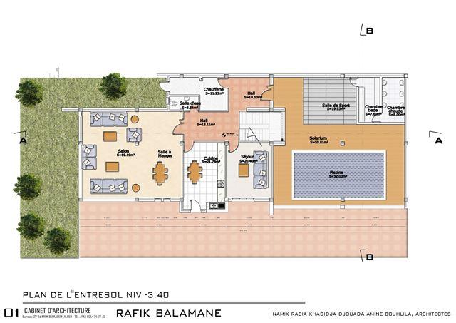 plan de maison individuelle en algerie